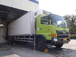 今回開発したSIL専用保冷車