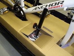 自転車の 自転車 輪行箱 : ... オリジナル輪行箱について