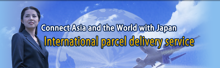 Connect Asia and the World with Japan  International parcel delivery service
